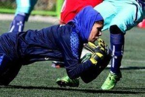 رکوردشکنی دروازه بان فوتبال بانوان ایران