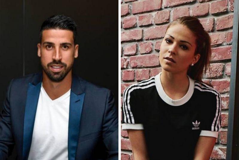 رابطه عاشقانه سامی خدیرا با بازیکن 25 ساله تیم فوتبال زنان بایرن مونیخ!