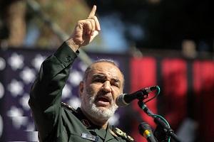 واکنش فرمانده کل سپاه به ادعای حمله آمریکا
