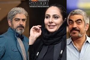 مهدی پاکدل، رعنا آزادی ور و سروش صحت در لحظه ای و دیگر هیچ + عکس