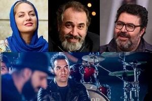 مهناز افشار و فرهاد اصلانی در فیلمی برای عاشقان استقلال و فوتبال + عکس