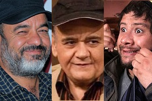 علی صادقی و اکبر عبدی در سریال سعید آقاخانی + تصاویر