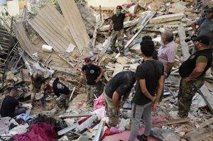 آمار قربانیان انفجار بیروت افزایش یافت