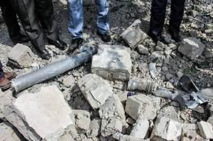 اصابت ۱۰ راکت جنگ قره باغ به شهرستان خدا آفرین
