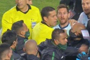 الفاظ زشت مسی خطاب به بازیکن بولیوی؛ کچل!