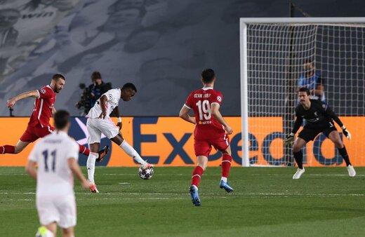 شکست سنگین لیورپول مقابل رئال در لیگ قهرمانان اروپا