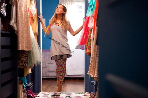زنان شیک پوش کمد لباسشان را مرتب نگه میدارند,9 عادت روزانه زنان شیک پوش