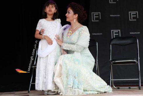 مدل لباس آیشواریا رای Aishwarya Rai در مراسم IFFM 2017 در ملبورن - عکس شماره 11
