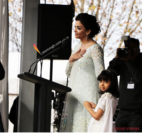 مدل لباس آیشواریا رای Aishwarya Rai در مراسم IFFM 2017 در ملبورن - عکس شماره 9