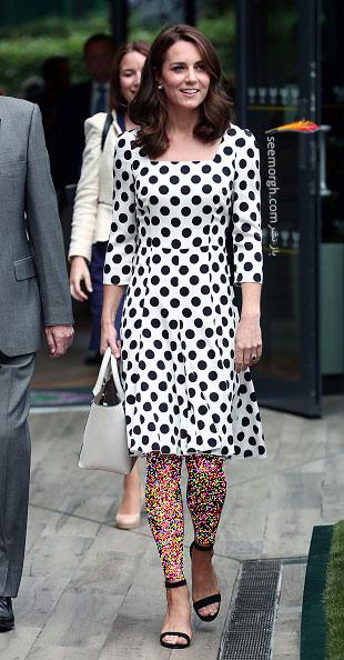 انتخاب و ست کردن پیراهن کوتاه به سبک Kate Middleton کیت میدلتون - 3 جولای 2017