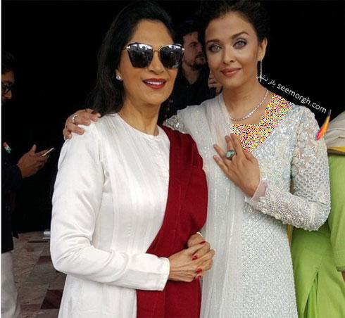 مدل لباس آیشواریا رای aishwarya rai در مراسم iffm 2017 در ملبورن - ع شماره 3