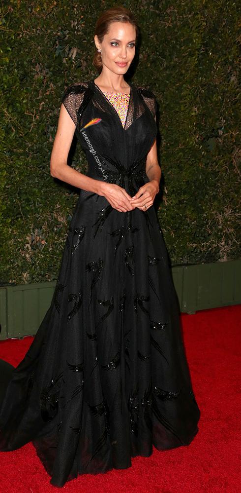 مدل لباس آنجلینا جولی Anjelina Jolie در مراسم Governors Awards 2013 - عکس شماره 1
