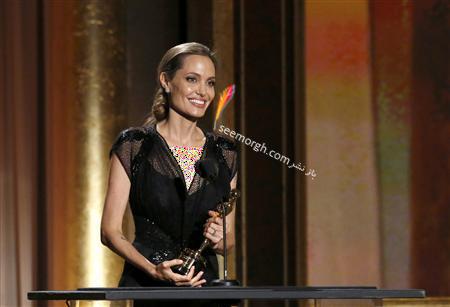 مدل لباس آنجلینا جولی Anjelina Jolie در مراسم Governors Awards 2013 - عکس شماره 4