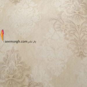 ست کردن کاغذ دیوای با مبلمان شزلون قهوه ای طلایی - عکس شماره 1