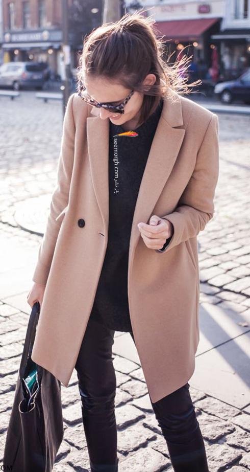 مدل پالتو زنانه برای پاییز 2017 به انتخاب مجله هارپر بازار HarperBazzar - عکس شماره 1