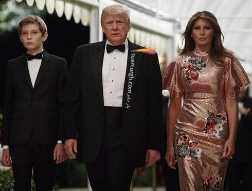 مدل لباس ملانیا ترامپ Melania Trump در جشن سال نو میلادی 2018 - عکس شماره 1
