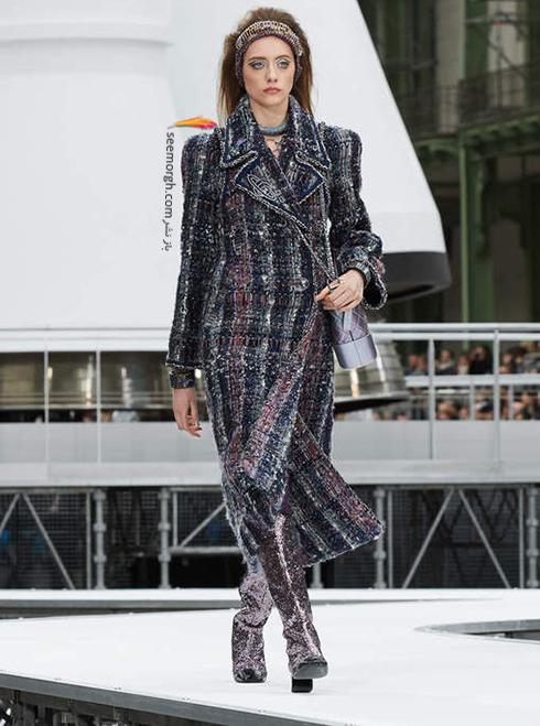 پالتو زنانه شنل Chanel برای زمستان 2017 - عکس شماره 6