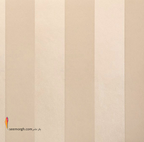ست کردن کاغذ دیوای با مبلمان شزلون قهوه ای طلایی - عکس شماره 7
