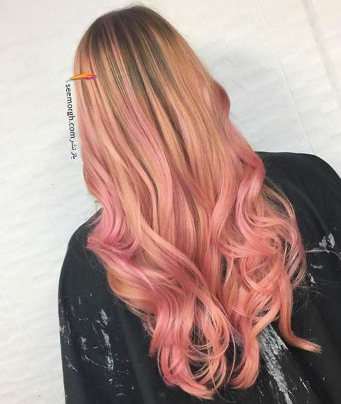 رنگ مو بلوند رزگلد برای سال نو میلادی - عکس شماره 2