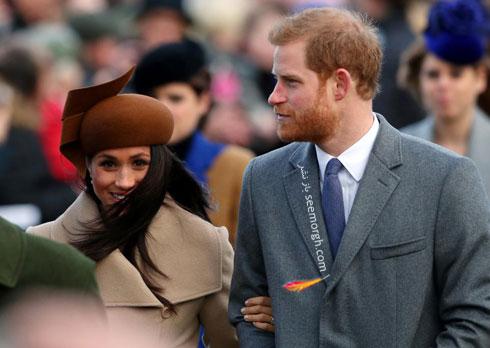 عکس پرنس هری و مگان مارکل Megan Markle در روز کریسمس - عکس شماره 2