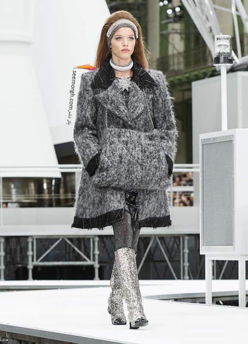پالتو زنانه شنل Chanel برای زمستان 2017 - عکس شماره 13