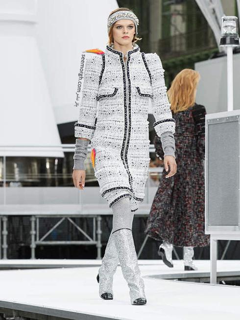 پالتو زنانه شنل Chanel برای زمستان 2017 - عکس شماره 11
