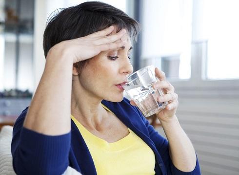 4. علایم یائسگی: گر گرفتگی
