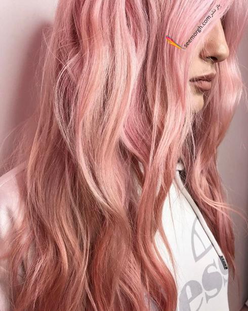 رنگ مو بلوند رزگلد برای سال نو میلادی - عکس شماره 8