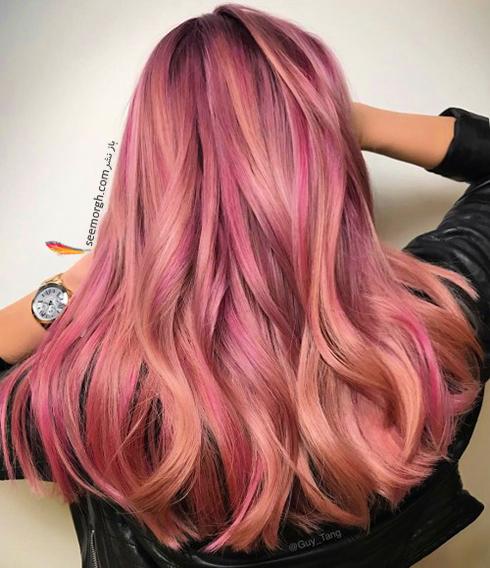 رنگ مو بلوند رزگلد برای سال نو میلادی - عکس شماره 4