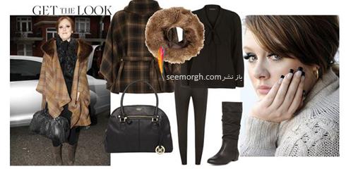 ست کردن لباس زمستاني به سبک ادل Adele - عکس شماره 14