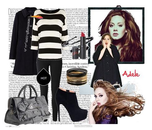 ست کردن لباس زمستاني به سبک ادل Adele - عکس شماره 13
