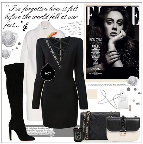 ست کردن لباس زمستاني به سبک ادل Adele - عکس شماره 12