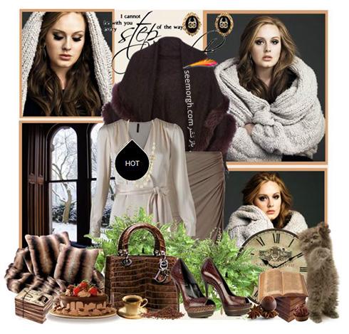 ست کردن لباس زمستاني به سبک ادل Adele - عکس شماره 10
