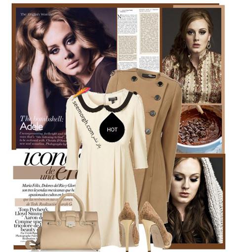 ست کردن لباس زمستاني به سبک ادل Adele - عکس شماره 8