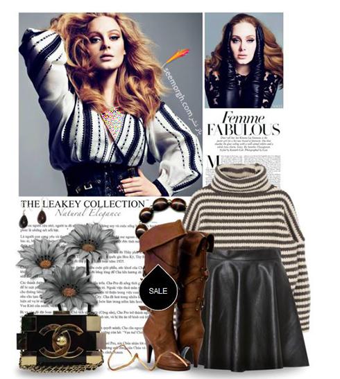 ست کردن لباس زمستاني به سبک ادل Adele - عکس شماره 7