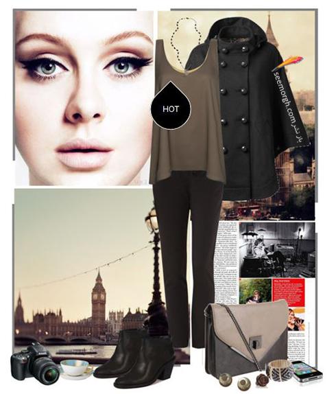 ست کردن لباس زمستاني به سبک ادل Adele - عکس شماره 6