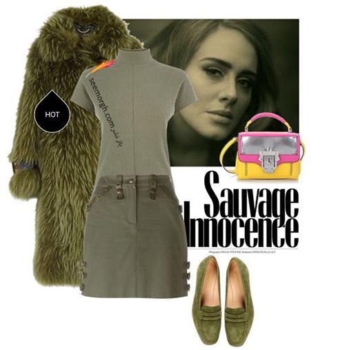 ست کردن لباس زمستاني به سبک ادل Adele - عکس شماره 3