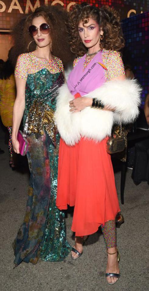 مدل لباس سیندی کرافورد Cindy Crawford و امل کلونی Amel Clooney در هالووین 2017