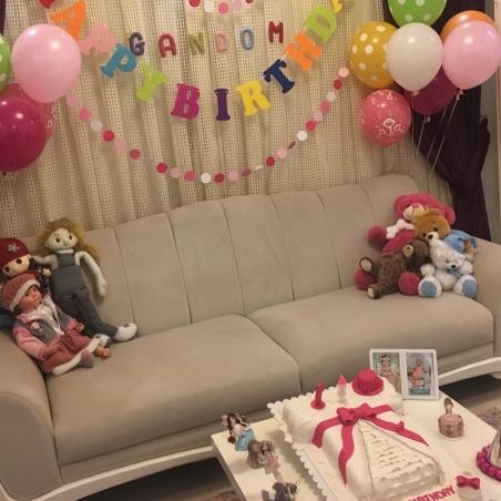 جشن تولد گندم دختر آزاده نامداری