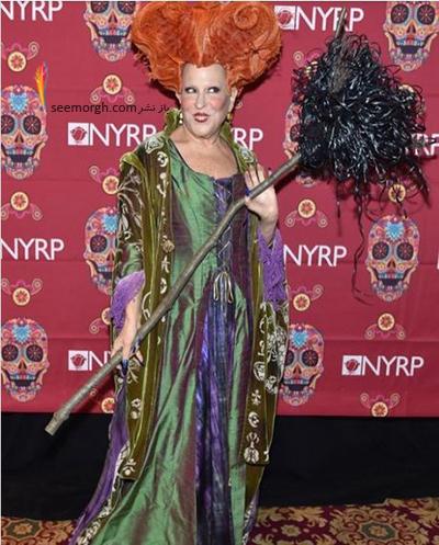 مدل لباس بت میدلر Bette Midler در جشن هالووین 2016