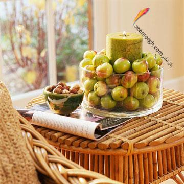 با سیب های پاییزی میز اتاق نشیمن تان را تزیین کنید