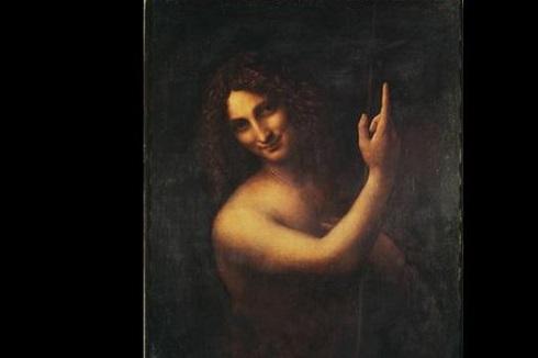 تابلوی یحیای تعمید دهنده اثر لئوناردو داوینچی