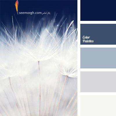 بهترین رنگ ها برای ترکیب با رنگ سورمه ای در دکوراسیون داخلی - ترکیب رنگی شماره 1
