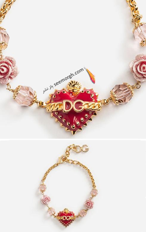 کلکسیون زیورآلات دولچه اند گابانا Dolce&Gabbana برای ولنتاین 2018 - عکس شماره 10