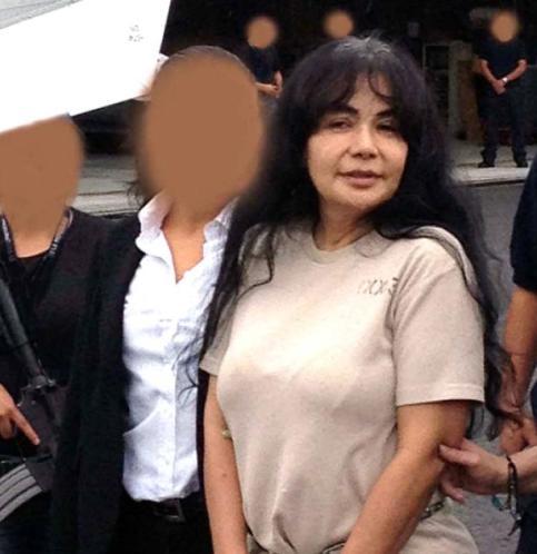 دستگيري ساندرا آويلا بلتران توسط ماموران پليس مبارزه با مواد مخدر