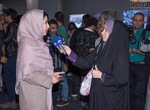 لیلا اوتادی در اکران مردمی آزادی به قید شرط