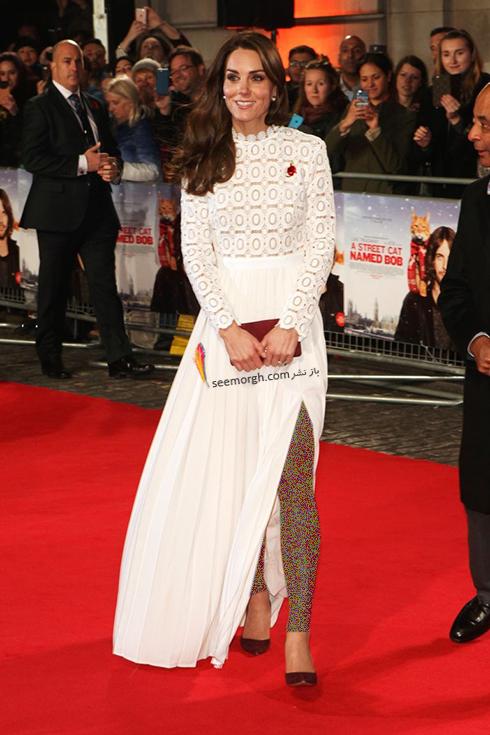 کیت میدلتون با یک کیف دستی زیبا به رسم مد خانواده سلطنتی - عکس شماره 2