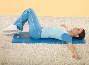 کوچک کردن شکم با حرکت برف پاک کن