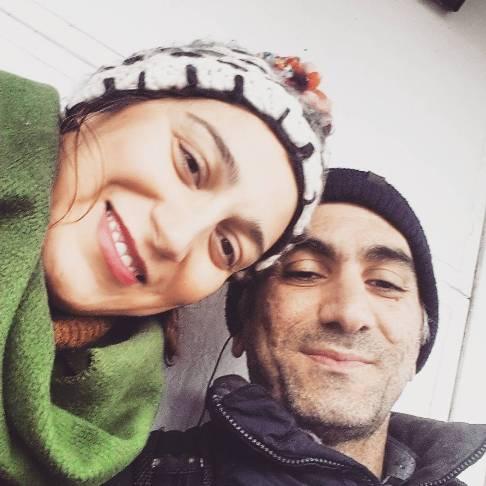 فلامک جنیدی و همسرش آیدین پوری