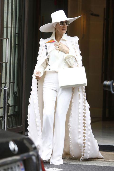 مدل مانتو و بارانی به سبک سلن دیون Celine Dion - مدل شماره 1